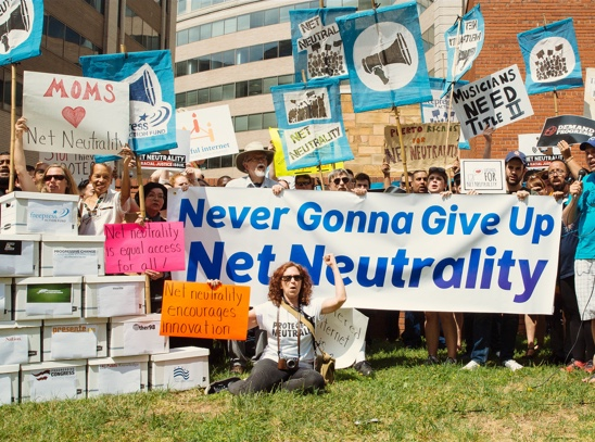 Rally for Net Neutrality