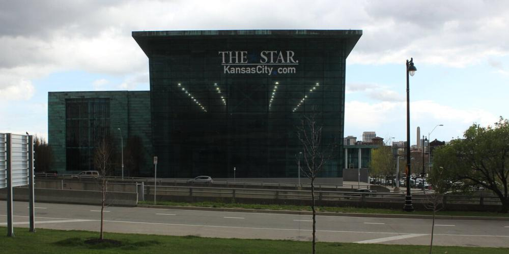 Photo of the exterior of the Kansas City Star